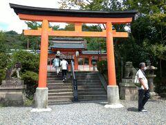 少し戻って・・・ 宇治神社にも参拝。