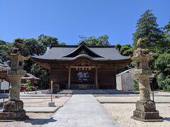 城内にある松江神社で「今回の旅行の安全と何か良い事がありますように!」とお祈りしました。