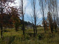 紅葉とススキの裏磐梯高原