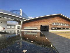 あっという間に到着です  アクアイグニス  三重県湯の山温泉の麓にある 「癒し」と「食」をテーマにした 複合温泉リゾート施設です