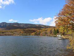 到着したのはバラキ湖。 近くにはキャンプ場もあるようです。