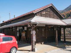 東海旅客鉄道(JR東海)中央本線の駅 奈良井駅  こちらもJR東海の駅で標高が1番高い 明治42年(1909)開業