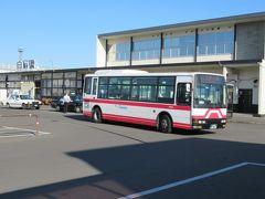 13:33 白石駅前から宮城交通の路線バスに乗車