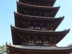 興福寺五重塔も6年ぶりです。 奈良に来たって感じますね。