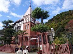 風見鶏の館(ドイツ人貿易商トーマス氏の旧邸で尖塔上の風見鶏がシンボルです。)
