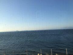 帰りも海沿いをしおかぜで。今治駅15:41発。