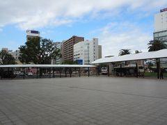 宮崎駅西口、メイン側です