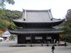 古くから皇室の菩提寺として、護られてきた寺院とのことです。