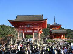 ここまで足を伸ばしましたので、不安を抱えながら、清水寺に行ってみました。
