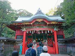 さらに階段を登り、2つめの神社、江ノ島中津宮です。