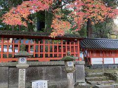 二月堂のあと、隣の手向山神社へ。こちらの紅葉も素晴らしいです。