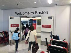 ボストンについに到着。