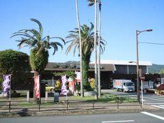 指宿駅 南国情緒があります 数人のお客様がここから乗車されました