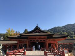 厳島神社到着