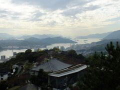 山頂展望台からの景色です。