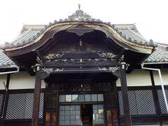 天寧寺のお堂です。 かなり古いですね。 この右手の入り口で御朱印が頂けます。