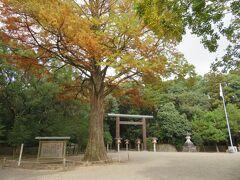 宮崎駅からバスで宮崎神宮に参拝に来ました。