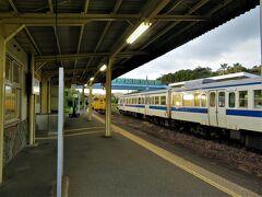 宮崎駅から、青島駅に。