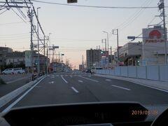 アオキスーパーまえの道路に右折帯が出来ました。