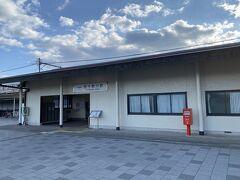 これ以上人混みにいるのは危険だと思い早々に駅に向かいます。五十鈴川駅何もなさすぎたので伊勢市駅から帰れば良かった。
