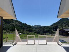 棚田を望む高台に新しいカフェができました。 「棚田屋カフェ」さんは週末カフェです。