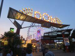 レーパーバーンに来るとき毎回訪れる移動式巨大遊園地  HAMBURGER DOM!!