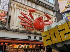 この時は蟹さん元気に泳いでいます。