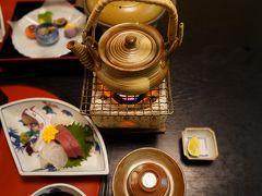宿泊先ホテル平安の森京都に17時30分頃到着 18時夕食です。