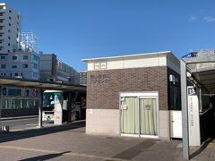 岡山駅に到着で~す!! 岡山中心街に初上陸('◇')ゞ