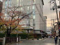 本日のお宿「クロスホテル京都」 Go Toキャンペーンで\15,300→\9,945 booking.com めっちゃ綺麗、場所も云うことなし!
