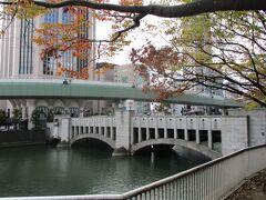 土佐堀川に架かる、錦橋です。