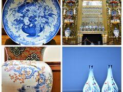 陶器がたくさん置いてある お土産屋さんに入ったつもりが、 偶然にも美術館(これまた失礼)、 ポルセレインミュージアム。