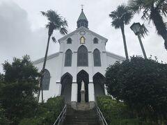 現存する日本最古の教会、大浦天主堂。内部は撮影禁止です