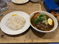 で、北海道と言えばスープカレー。