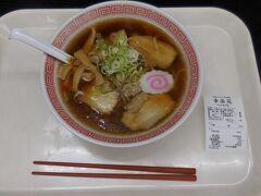 福島西ICから東北縦貫自動車道路に乗り、途中のPAでラーメン。そういえば今日はお昼を食べていなかった。