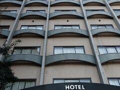 ホテルを出る時に撮ったホテルの写真です。