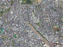 別所沼は、埼京線の東側にあります。  武蔵野線から見ると北側にあります。