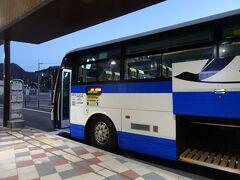 長野原草津口駅からJRバスで草津温泉へ