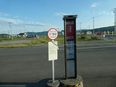志津川駅です。 歌津駅との間には、3つの駅(停留所)がありますが、その画像はないのでした。