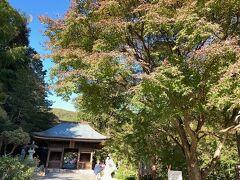 帰路どこかに寄るところはないかと調べてやって来たのが豊橋市の「普門寺」です。真言宗の寺院です。
