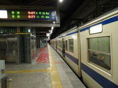2020.11.21 熊本 熊本に到着。415系も十分魅力だが…