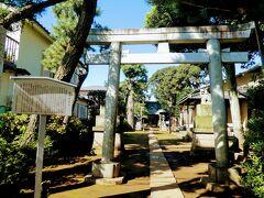 石神井神社は石神井の名の由来となった由緒ある神社だそう。