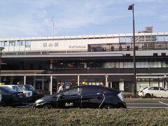 【一日目】 平日の昼過ぎ、広島県東部の福山市に着いた。 上の写真はJR福山駅の南口側。城のある北口とは反対側である。