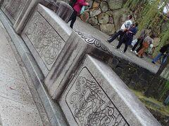 今橋 倉敷川の眺めは勿論、この橋の彫刻もステキです。