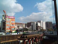 春吉橋まで来ました。 博多っ子純情♪のはずが、橋はもうない!! まさかの出来事。