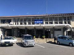 先ほどの特急列車に乗って終点湯田中まで。
