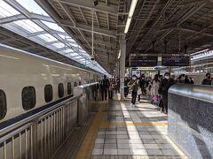2時間ほどで新大阪駅に到着。