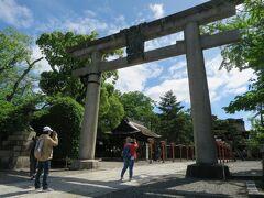 豊国神社に来ました。明治になって再建されたそうです。