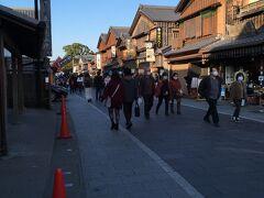 おはらい町 内宮そばは結構人が多いですが、おかげ横丁過ぎたあたりには人も少なめ。