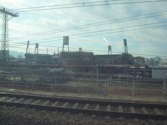 広島カープの本拠地 MAZDA ZOOM-ZOOMスタジアムは新幹線のすぐ側